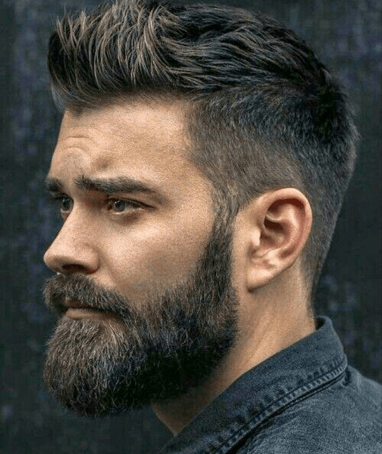 hairstyles-with-beards-40 100 Incredible Hairstyles With Beard To Try (2020)