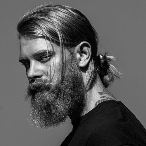hairstyles-with-beards-43 100 Best Hair & Beard Style Combinations for 2018
