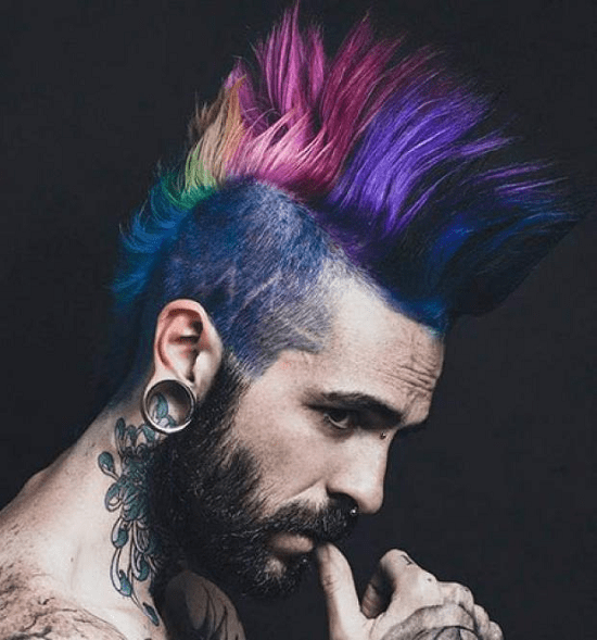 hairstyles-with-beards-45 100 Incredible Hairstyles With Beard To Try (2020)