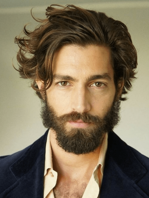 hairstyles-with-beards-50 100 Incredible Hairstyles With Beard To Try (2020)