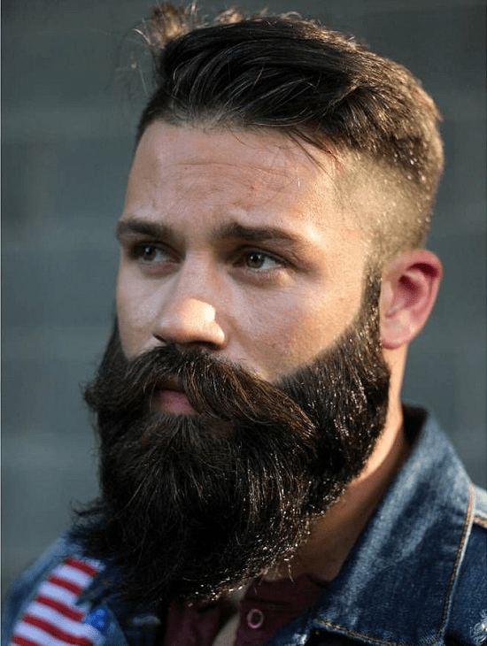 hairstyles-with-beards-52 100 Incredible Hairstyles With Beard To Try (2020)