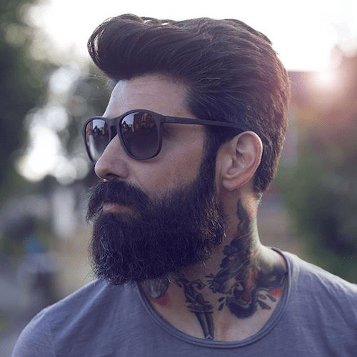 hairstyles-with-beards-60 100 Best Hair & Beard Style Combinations for 2018