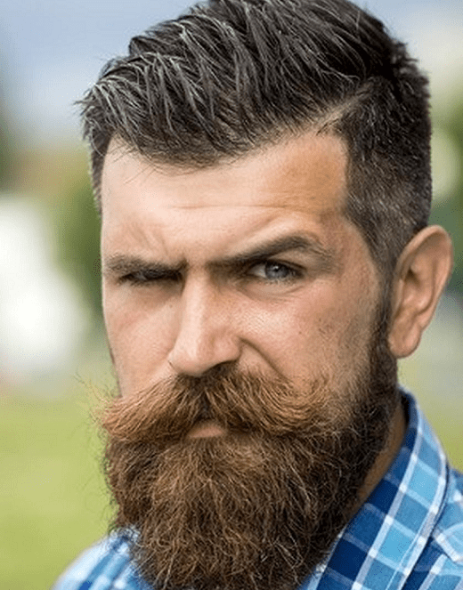 hairstyles-with-beards-70 100 Incredible Hairstyles With Beard To Try (2020)