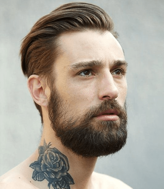 hairstyles-with-beards-81 100 Incredible Hairstyles With Beard To Try (2020)