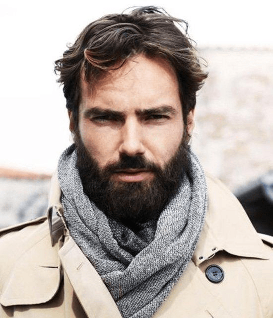 hairstyles-with-beards-82 100 Incredible Hairstyles With Beard To Try (2020)