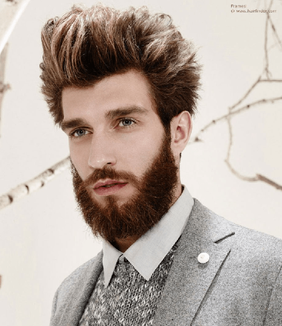 hairstyles-with-beards-83 100 Incredible Hairstyles With Beard To Try (2020)
