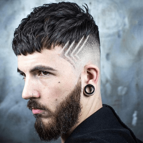 hairstyles-with-beards-87 100 Incredible Hairstyles With Beard To Try (2020)
