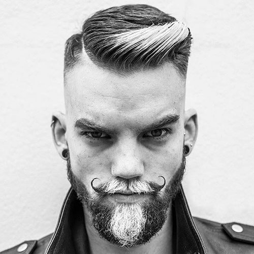 hairstyles-with-beards-92 100 Incredible Hairstyles With Beard To Try (2020)