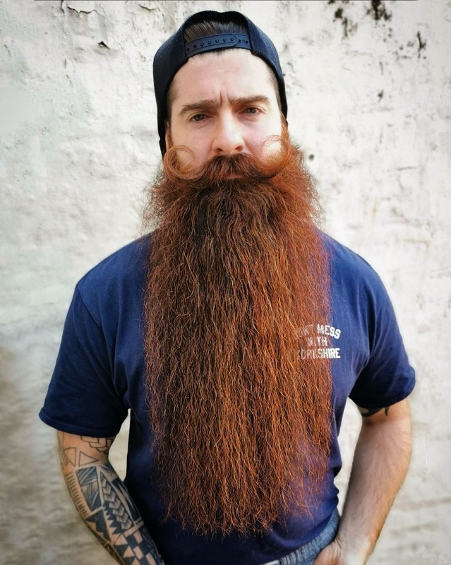 long-beard-9 70 Sexy Long Beard Styles for Men
