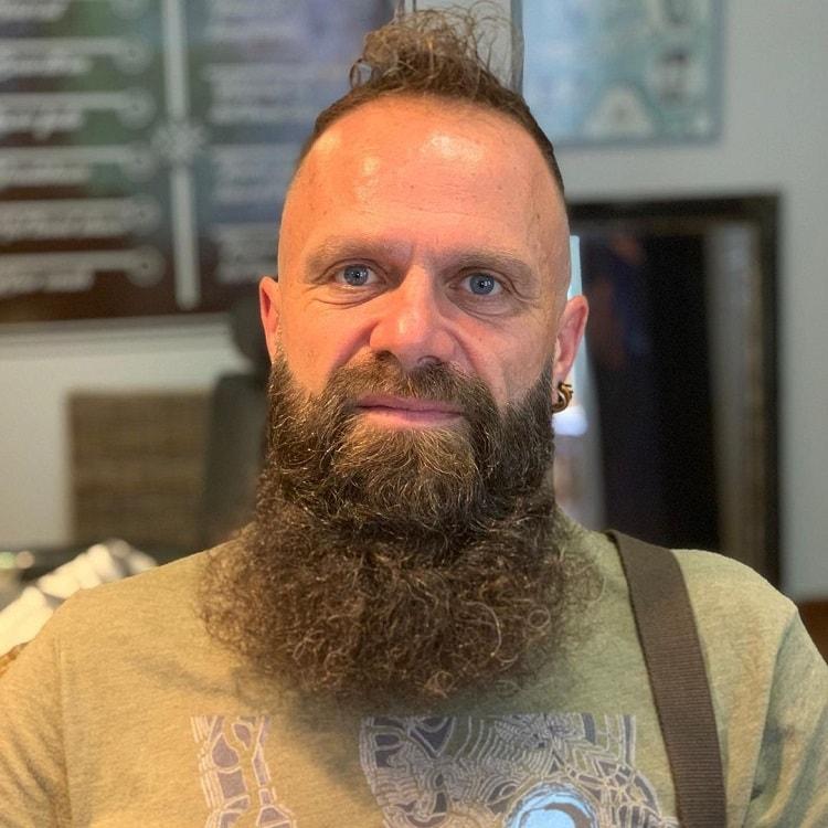 long-curly-beard 70 Sexy Long Beard Styles for Men
