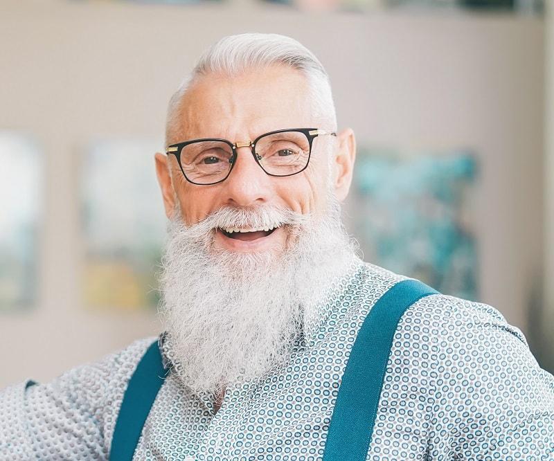 long-grey-beard 70 Sexy Long Beard Styles for Men