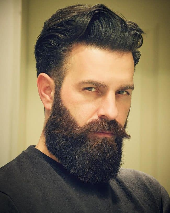 men-beard-style-23 160 Coolest Beard Styles to Grab Instant Attention [2019]