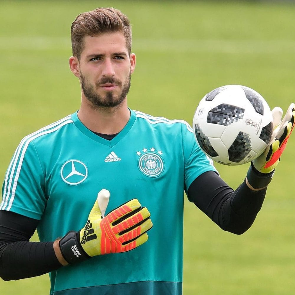 Kevin Trapp beard plus hairstyle