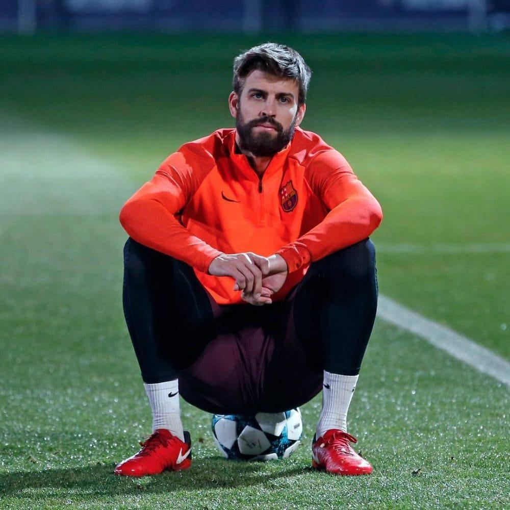 Gerard Pique beard