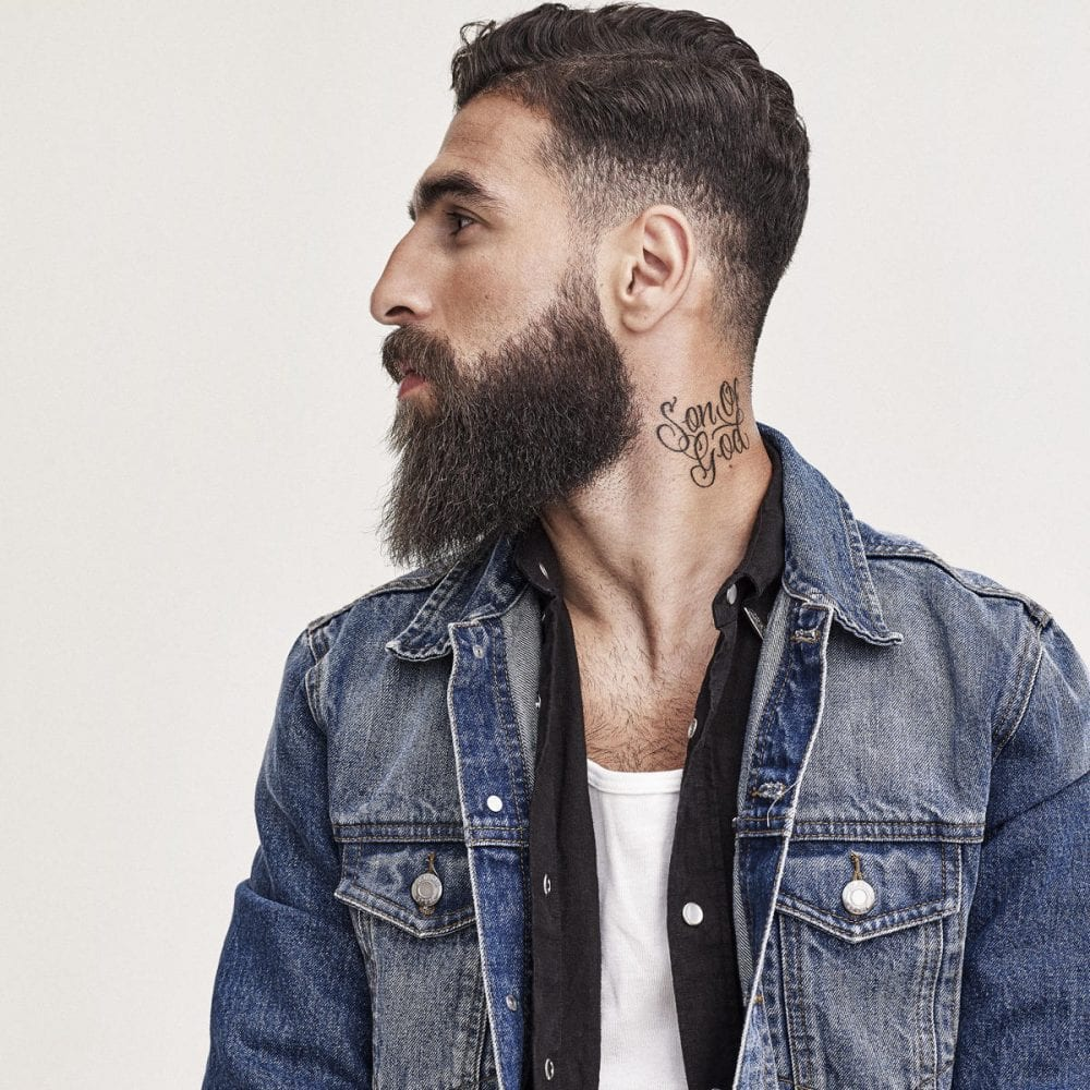 2-SWEDEN-Jimmy-Durmaz 30 Best Beard Styles Donned By Footballers in 2018 FIFA World Cup