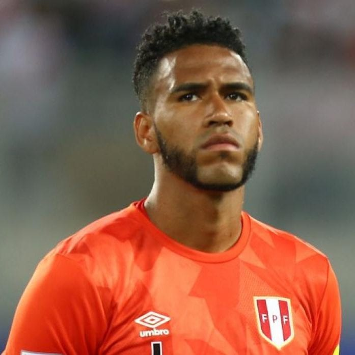 29-PERU-Pedro-Gallese 30 Best Beard Styles Donned By Footballers FIFA World Cups