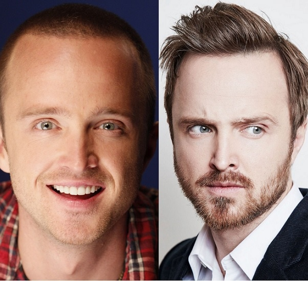 AARON-PAUL-1 21 Photos Of Celebrities With & Without Beard