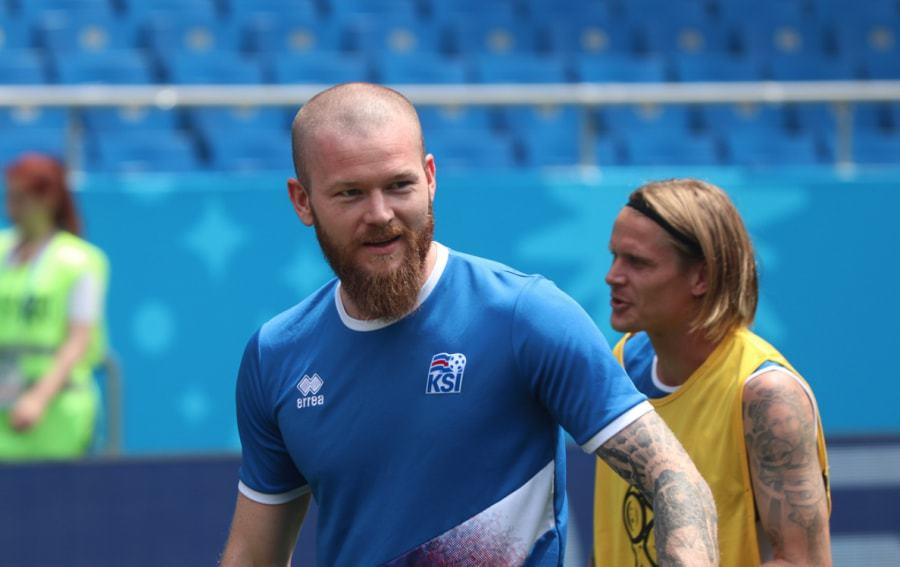 Aron-Gunnarsson 30 Best Beard Styles Donned By Footballers in 2018 FIFA World Cup