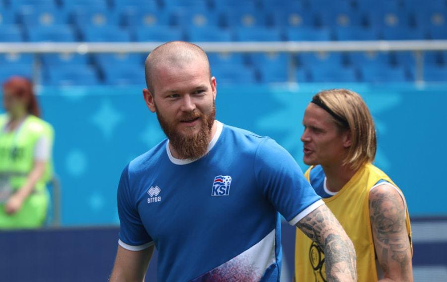 Aron Gunnarsson beard 2018 world cup