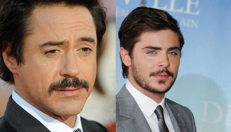 FACES-WITH-SOFT-FEATURES 70 Hottest Mustache Styles for Guys Right Now [2020]