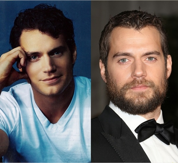 HENRY-CAVILL 21 Photos Of Celebrities With & Without Beard