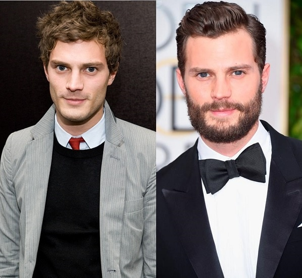 JAMIE-DORNAN 21 Photos Of Celebrities With & Without Beard