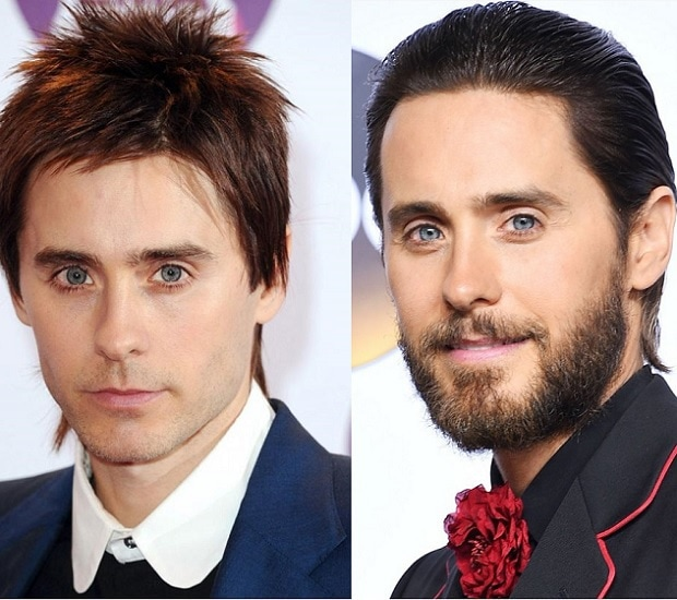 JARED-LETO 21 Photos Of Celebrities With & Without Beard