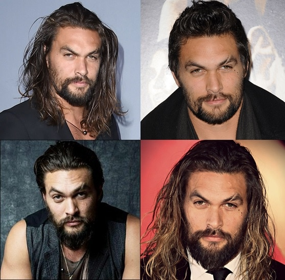 JASON-MOMOA Get Inspired By 5 Famous Beards, Goatees And Mustache Style