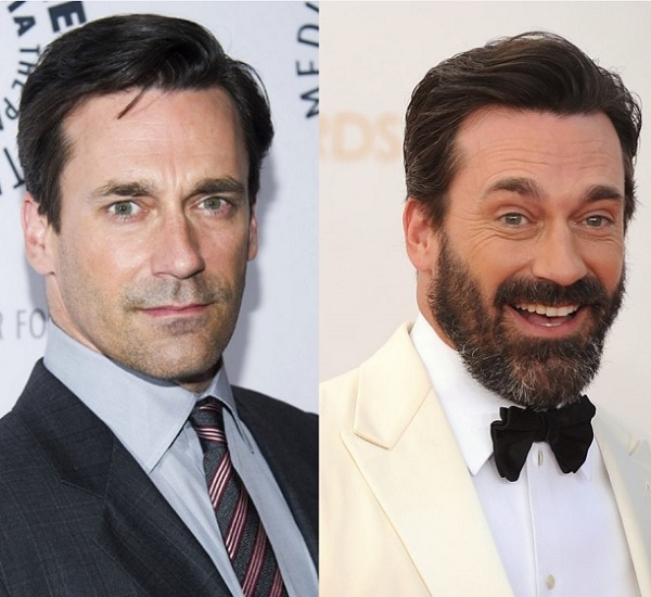 JON-HAMM 21 Photos Of Celebrities With & Without Beard