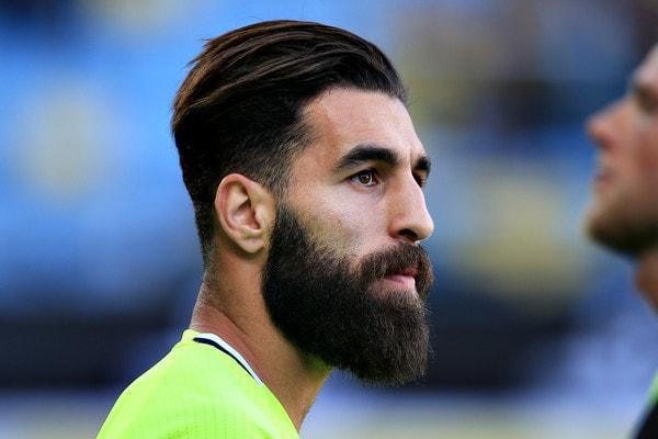 Jimmy Durmaz beard style