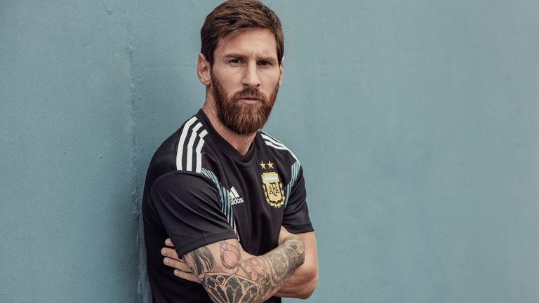 Messi beard style world cup 2018