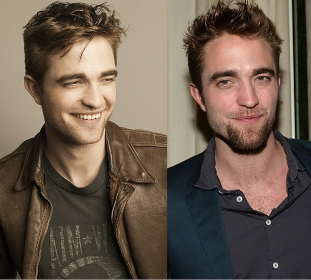 ROB-PATTINSON 21 Photos Of Celebrities With & Without Beard