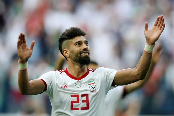 Ramin-rezaeian-2018-russia-world-cup-beard-trend 30 Best Beard Styles Donned By Footballers in 2018 FIFA World Cup