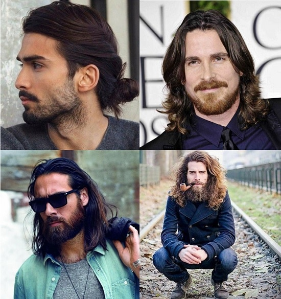 beard-for-long-hair 100 Incredible Hairstyles With Beard To Try (2020)