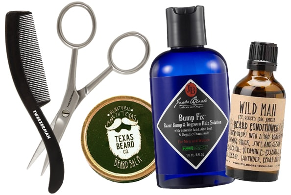 beard products for a bearded man