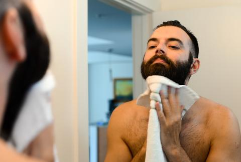 bearded-man-2 6 Steps to Avoid Neck Irritation After Shaving