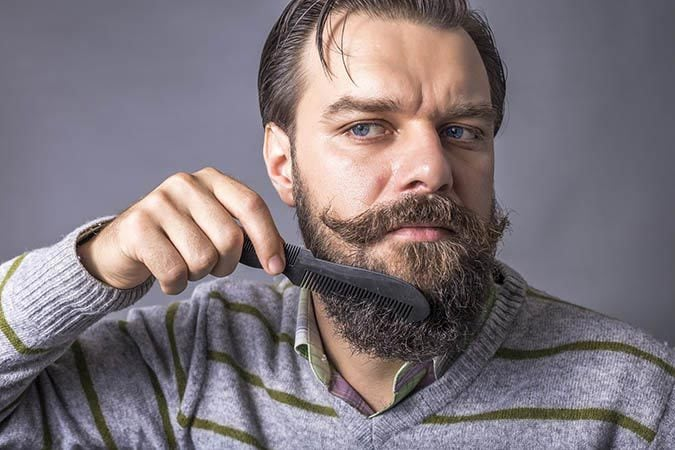 comb-beard Itchy Beard: Causes and How to Get Rid of It