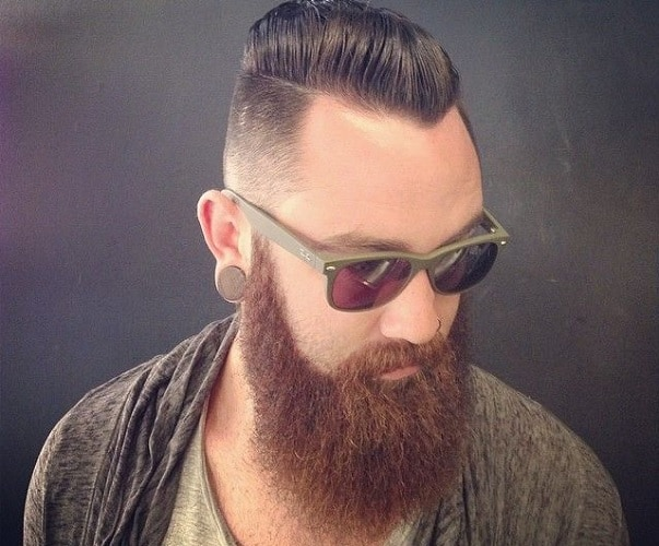 different-shades-in-beard-and-hair 100 Incredible Hairstyles With Beard To Try (2020)
