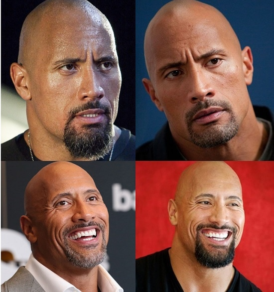 dwayne-johnson-goatee Get Inspired By 5 Famous Beards, Goatees And Mustache Style