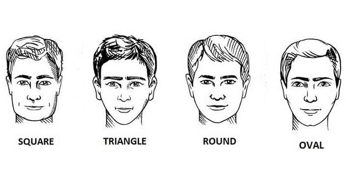 face shape for right beard type