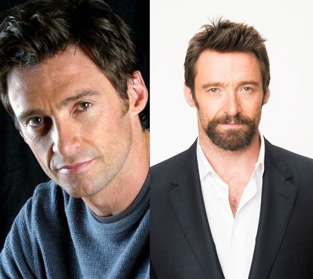 hugh-jackman1 21 Photos Of Celebrities With & Without Beard