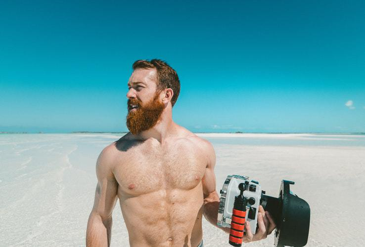 man-with-beard 4 Benefits of CBD Oil for Your Beard