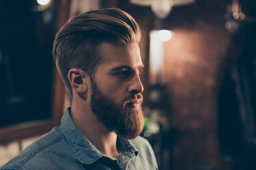 mustache and beard style