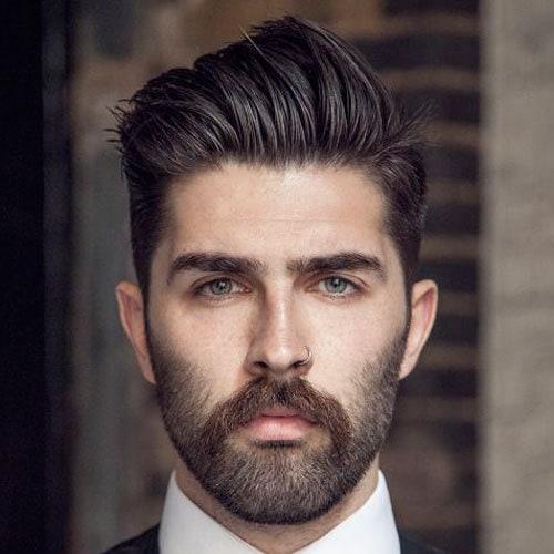 Pick The Ideal Beard Style For Your Oval Face Beardstyle
