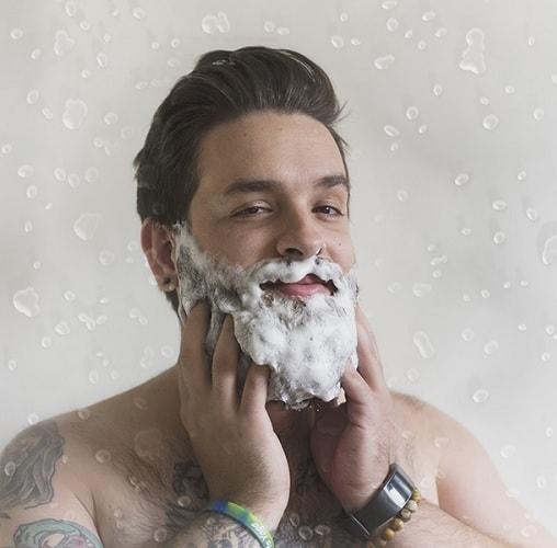 washing-beard-1 Curly Beard: Top 10 Styles & How to Take Care Like A Boss