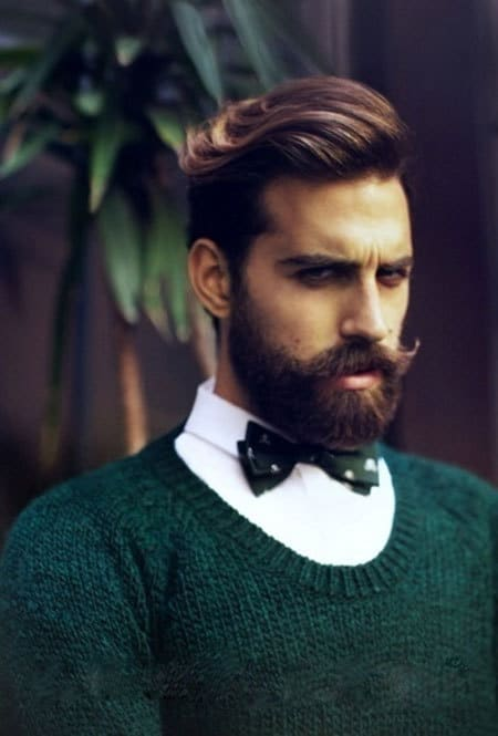 short-hairstyles-for-men-with-beard-10 80 Manly Beard Styles for Guys With Short Hair