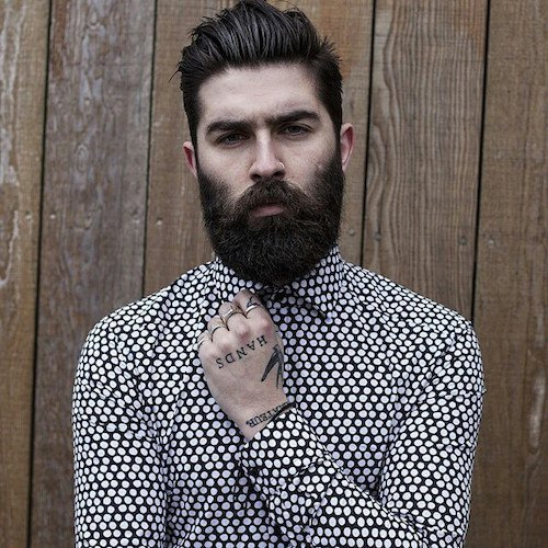 short-hairstyles-for-men-with-beard-2 80 Manly Beard Styles for Guys With Short Hair
