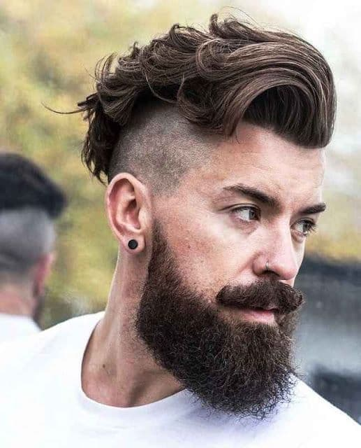 short-hairstyles-for-men-with-beard-4 80 Manly Beard Styles for Guys With Short Hair