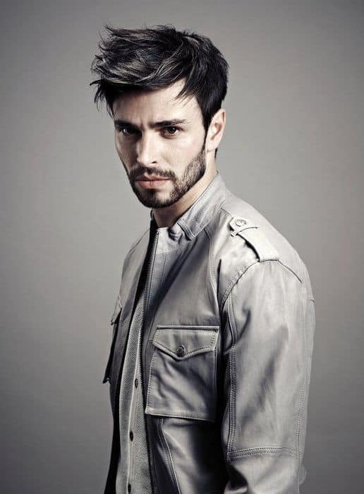 short-hairstyles-for-men-with-beard-5 80 Manly Beard Styles for Guys With Short Hair
