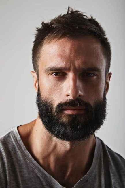 short-hairstyles-for-men-with-beard-7-e1535519650770 80 Manly Beard Styles for Guys With Short Hair